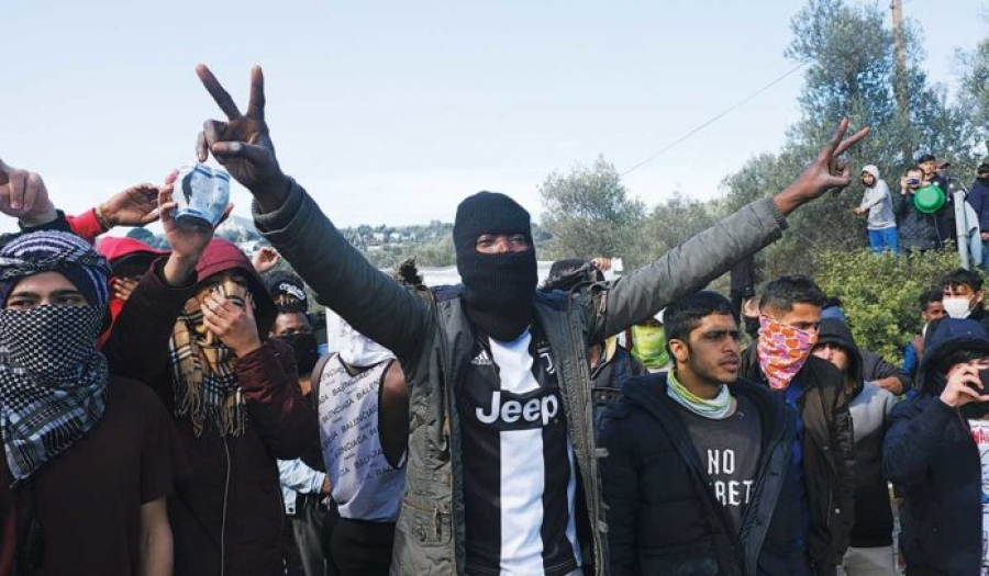 ΜΙΤ μαζί με Τσετσένους και Αφγανούς χτύπησαν στη Μόρια!