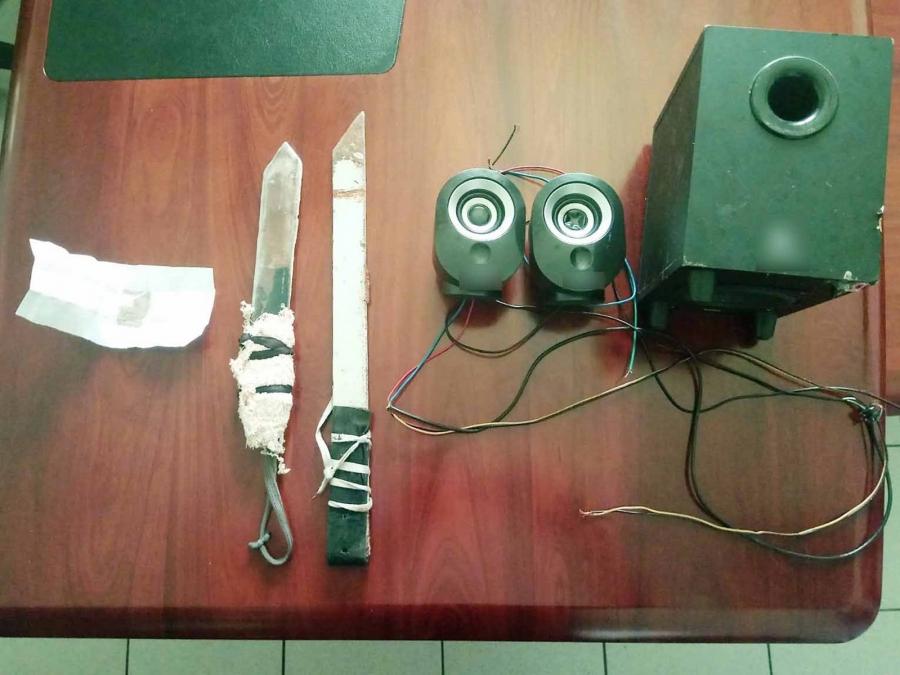 Αυτοσχέδια μαχαίρια και ηρωίνη στις φυλακές Δομοκού